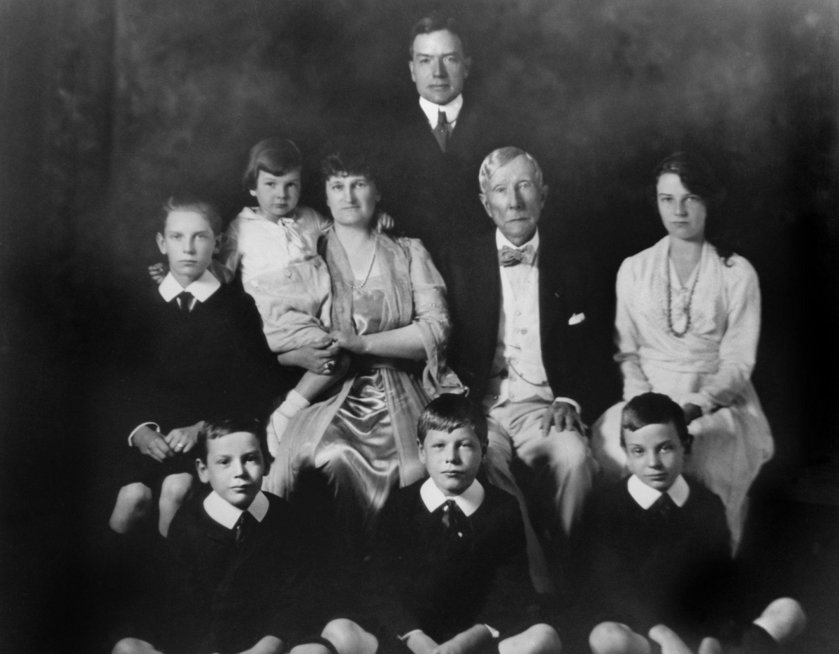 John D. Rockefeller passed his values down to his grandsons, pictured here in 1920, who would go on to establish the Rockefeller Brothers Fund. Photo courtesy of the Rockefeller Archive Center.